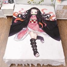 March обновление японского аниме Demon Slayer: Kimetsu no Yaiba сексуальное одеяло для девочек летнее одеяло и простыня из молочного волокна 150x200 см