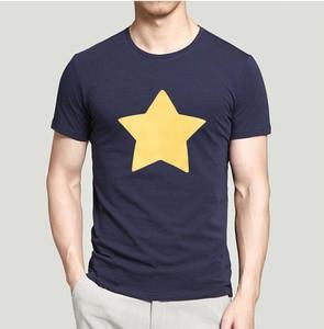 Men Summer T Shirt Arrival STEVEN UNIVERSE STAR T-Shirt Streetwear Short Sleeve Casual Tshirts Loose T-Shirts Cotton Tops Tees(China)