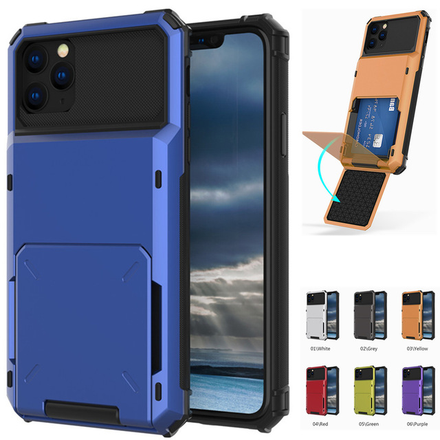 Multi Card Holder Case for iPhone 11/11 Pro/11 Pro Max