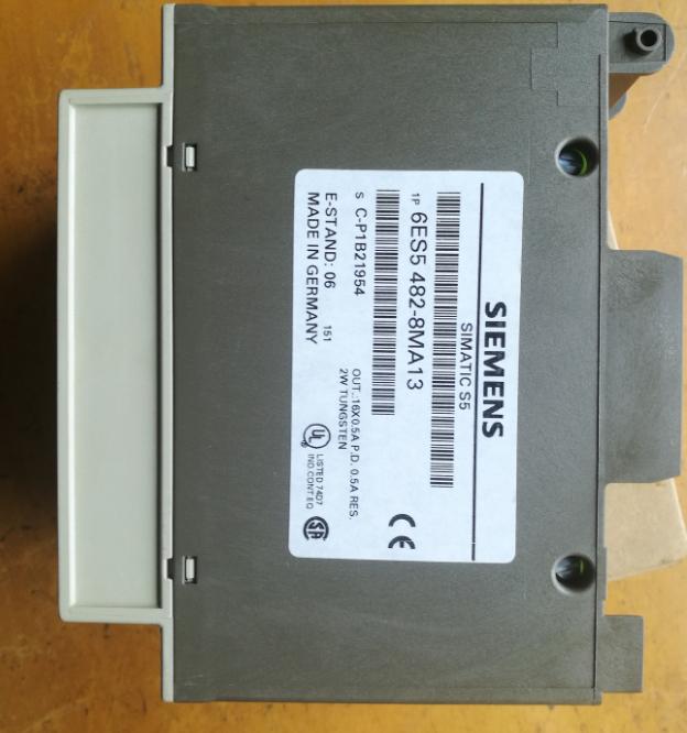 used 06 Siemens SIMATIC S5 6ES5 482-8MA13 6ES5482-8MA13 E-Stand