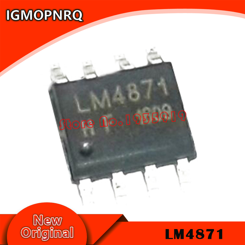 10PCS LM4871MX SOP8 LM4871 SOP 4871 SOP-8 New Original