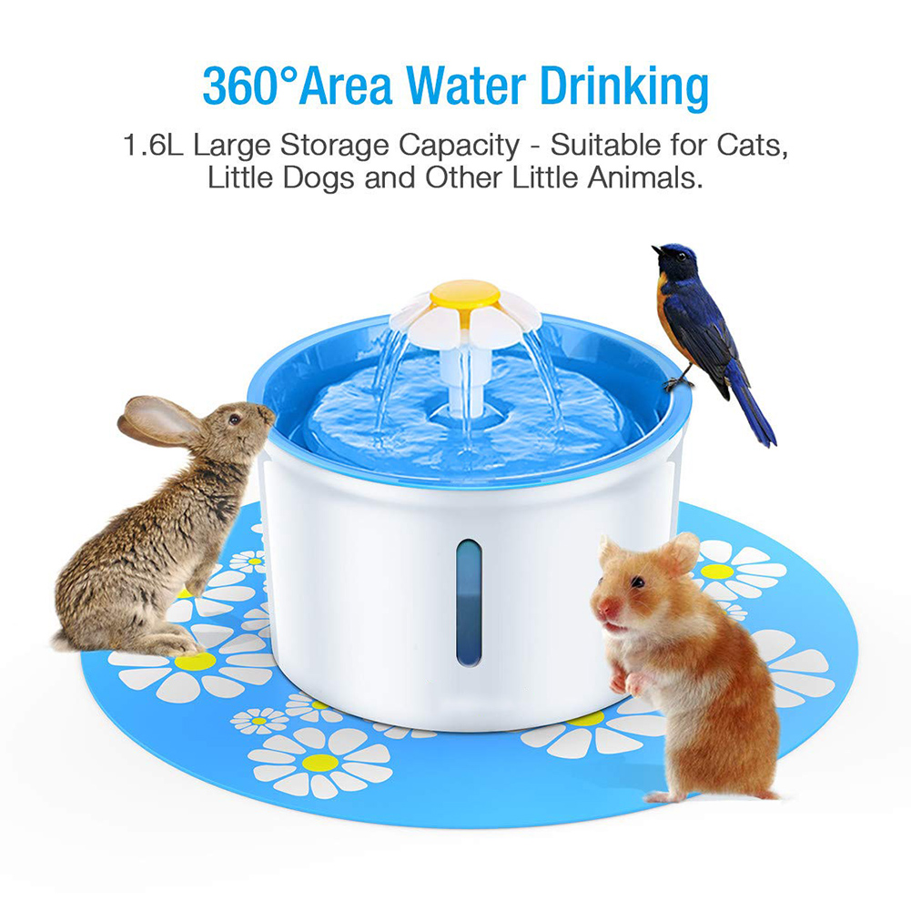 Cats Feeding & Watering Accessories Automatic Pet Water Fountain -1.6 L  My Pet World Store