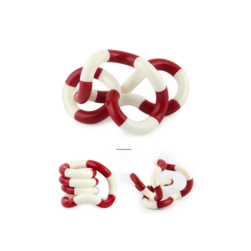 Toy Deformation-Rope Stress Fidget Adult Kids Child Colorful Twist Play Perfect img4
