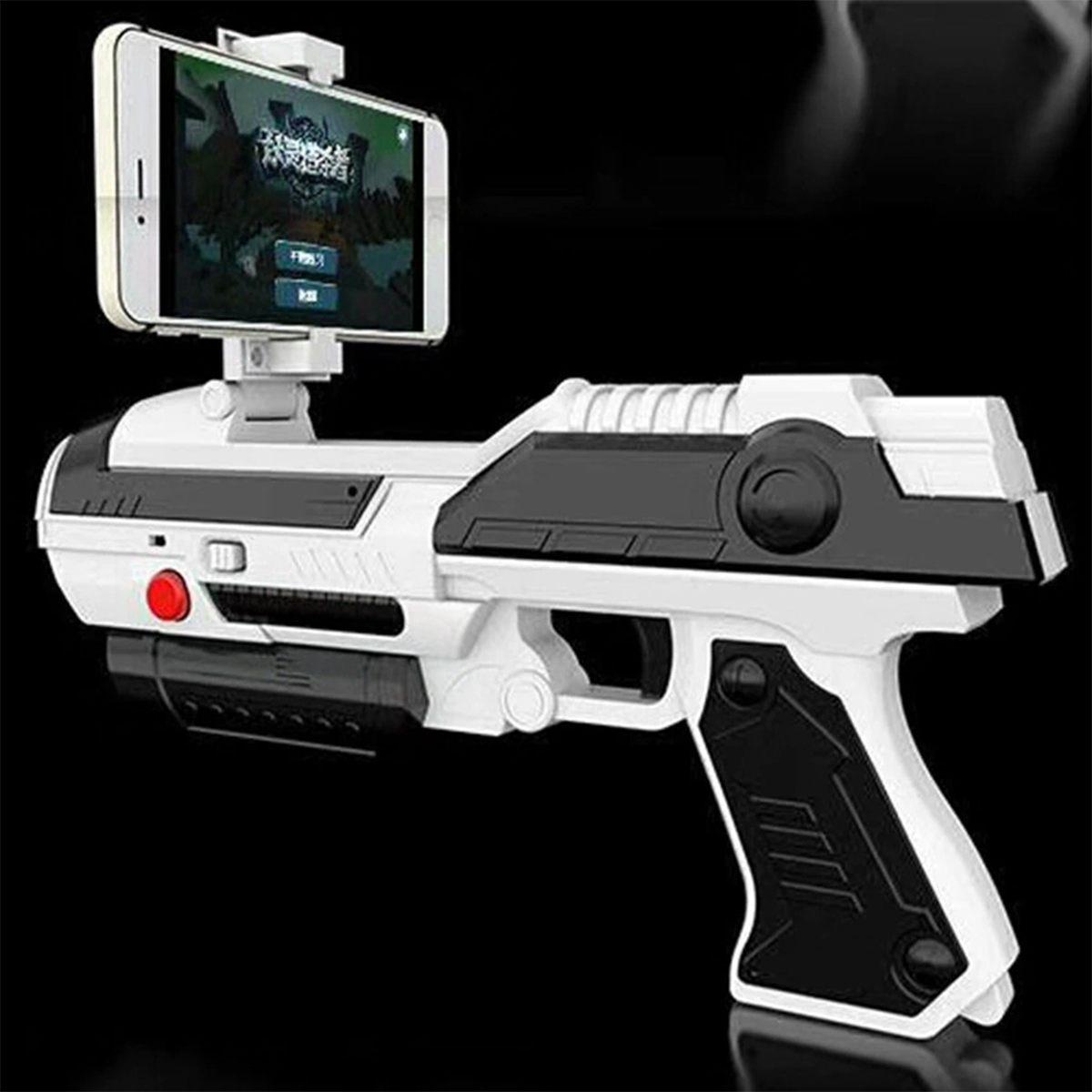 Creatives Mobile Phone AR-Game Guns Smart Bluetooth Controller VR Game Guns Outdoor Fun Sports Air Guns Toy Guns For IOS Android