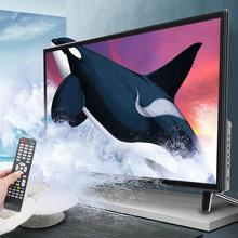 32 дюйма HD lcd Smart tv Ультра-узкий ободок искусственный интеллект голосовой Телевизор поддерживает USB HDMI RF антенный вход 110-240 в черный