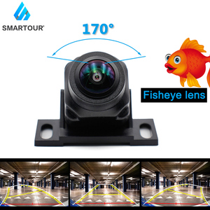 2020 New Track Night Vision Auto Parking Assistance Intelligent Dynamic Trajectory Parking Line Car Reverse Backup Camera