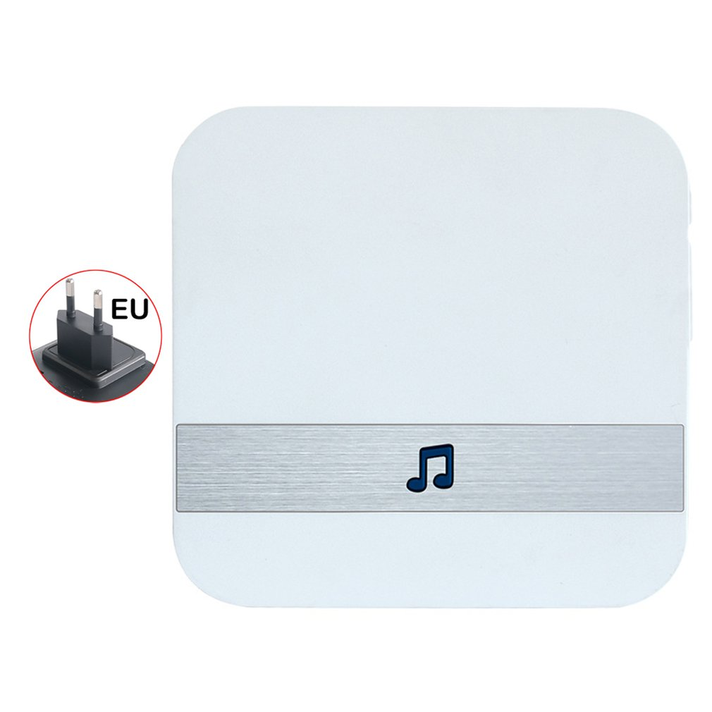 WiFi Doorbell Chime Wireless Indoor Doorbell Chime Extender With Volume Melody Selection For Home Security