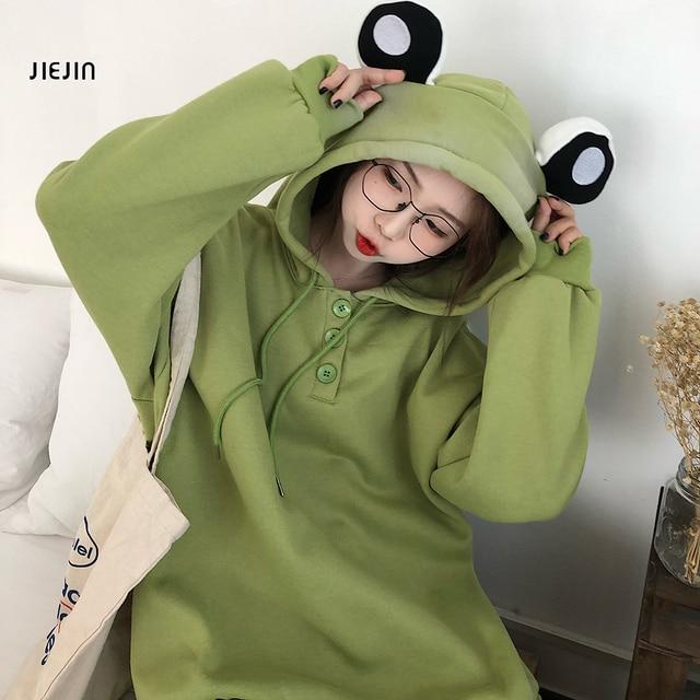 Sweat-shirt /à capuche avec motif pingouin et strass pour fille