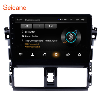 "Seicane 2Din Android 8.1 10.1"" Car GPS Auto Radio Multimedia Player Head Unit For 2013-2016 Toyota Vios Mirror link Support DVR"