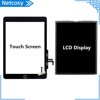 A1474 A1475 A1476 LCD Display Touch screen Home Assembly Repair Parts For iPad 5 Tablet Screen replacement For ipad Air Screen image