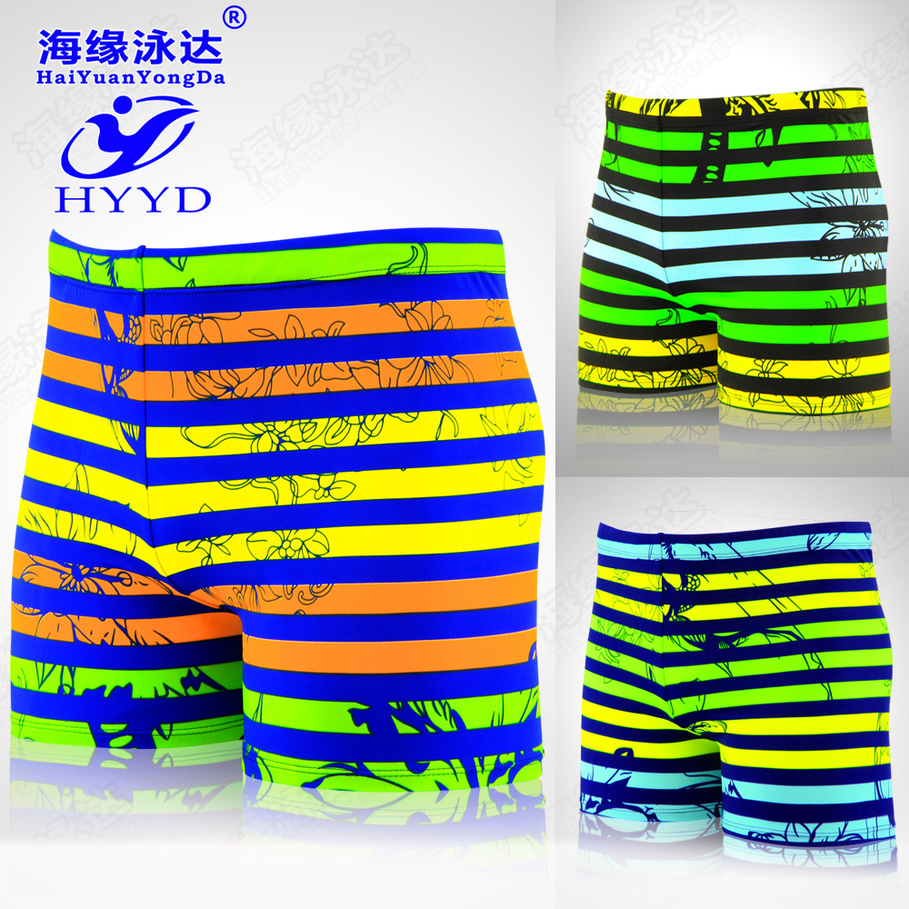 2019 Summer New Style Men Printed Swimming Trunks Fashion Loose And Plus-sized Waterproof Swimwear Seaside Beach Swimming Trunks