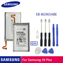 SAMSUNG Original Phone Battery EB-BG965ABE 3500mAh For Samsung GALAXY S9 Plus G9650 S9+ G965F Replacement Batteries + Free Tools original samsung phone case soft shell for sansung galaxy s9 plus g9650 s9 g9600 stealth tpu mobile phone cover