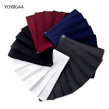 Solid Color Women High Waist Pleated Skirts Sweet Girls Dance Mini Skirt Summer Fashion Female Skirts Slim Waist A-line Skirt summer women pleated skirt high waist a line ladies girl mini skirts solid color female pleated skirt fashion chic women skirts
