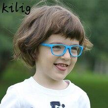 Anti Blue Light Glare Filter Baby Kids Glasses Frame Childre