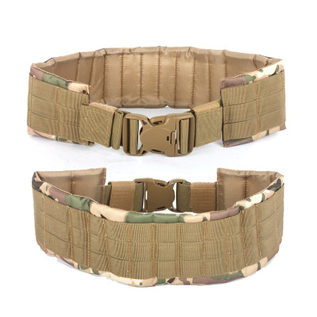 2019 New tactical molle belt  Function military Tactic climb Waist Seal More Function Man Other Belt MOLLE Load Belt Waist Bring 6