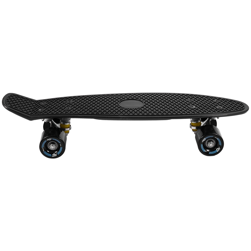 NEW-Four-Wheeled 22-Inch Mini Skateboard Cruiser Long Skateboard Adult Children Outdoor Sports Skateboard Single Rocker Pp Skate