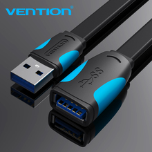 Vention-Cable de extensión USB 3,0 macho a hembra, extensor de datos para ordenador portátil, PC, Smart TV, PS4, Xbox, One, SSD, USB a USB