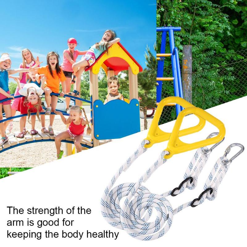 Children Playground Kids Outdoor Swing Rings Gymnastic Swing Accessories Playground Equipment Outdoor Play Toy