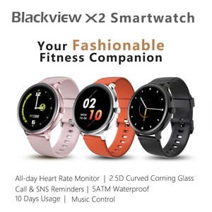 Смарт-часы Blackview X2 с ремешком из ТПУ, 1,3