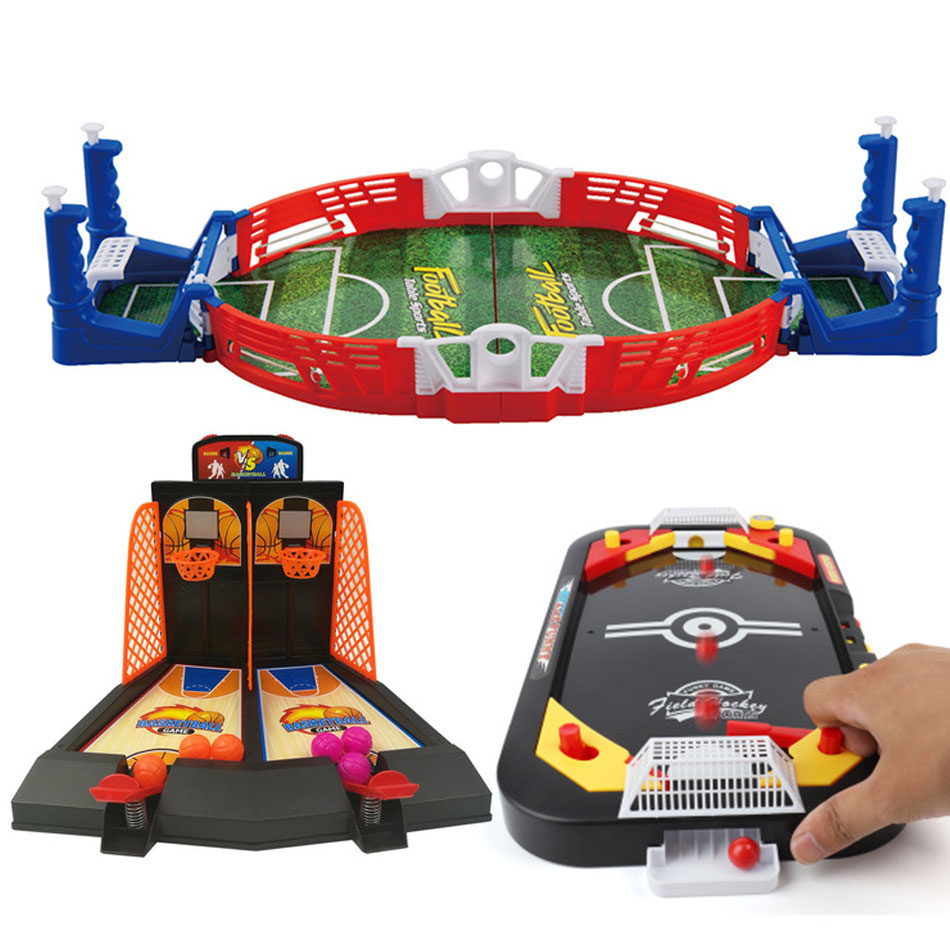 3 Style Desktop Games Mini Sport Funny Play Party Game Finger Board Game Educational Indoor Toys For Children Adult