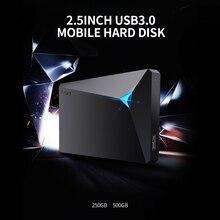 EAGET G20 2,5 zoll Mobile HDD 250GB USB 3,0 High Speed Mobile Festplatte 5400rpm Stoßfest Festplatte für PC Laptop desktop HDD
