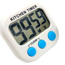 Electronic Timer Multi-Function Kitchen Large Screen Timer Portable Countdown Home Digital Kitchen Timer portable 1 7 lcd digital kitchen timer green white black