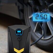 Tire Inflator Air-Compressor-Pump Bicycles Digital Auto 12-Volt Portable Car 150-Psi