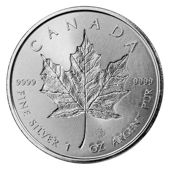 2018 Canadian Maple Leaf Silver Coin pure 999 silver badge coin original 1oz