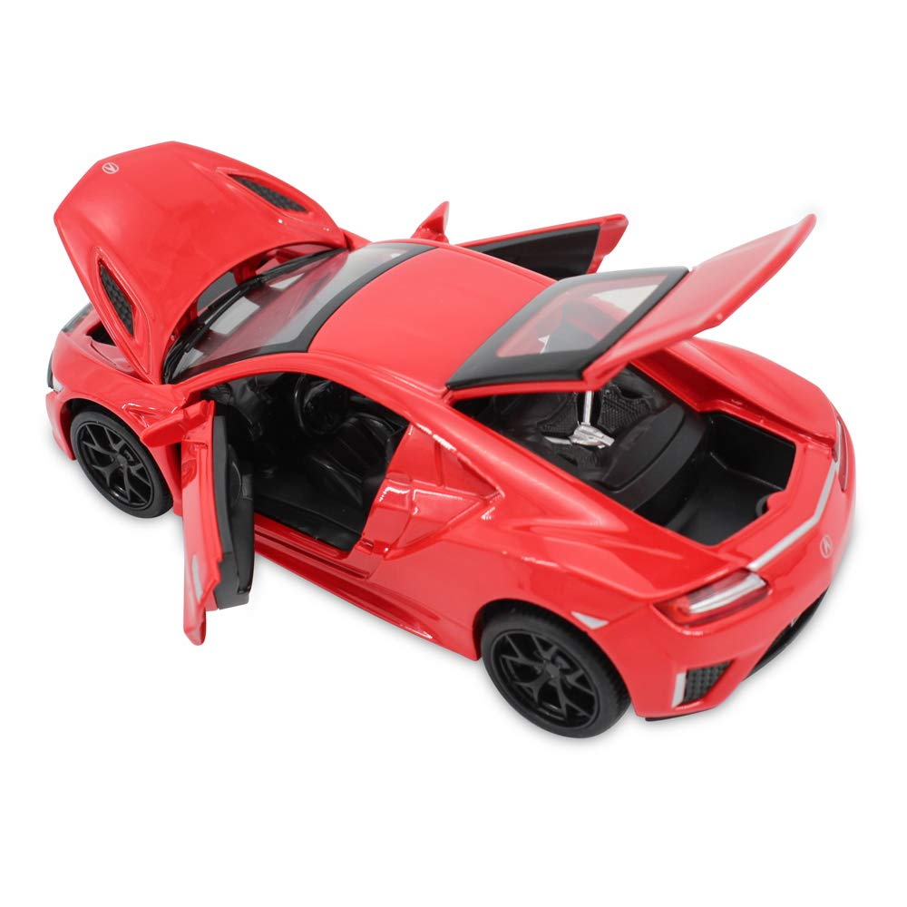 1 32 Scale High Simulation Acura NSX Diecast Model Car Pull Back Toy Vehicles For Kids