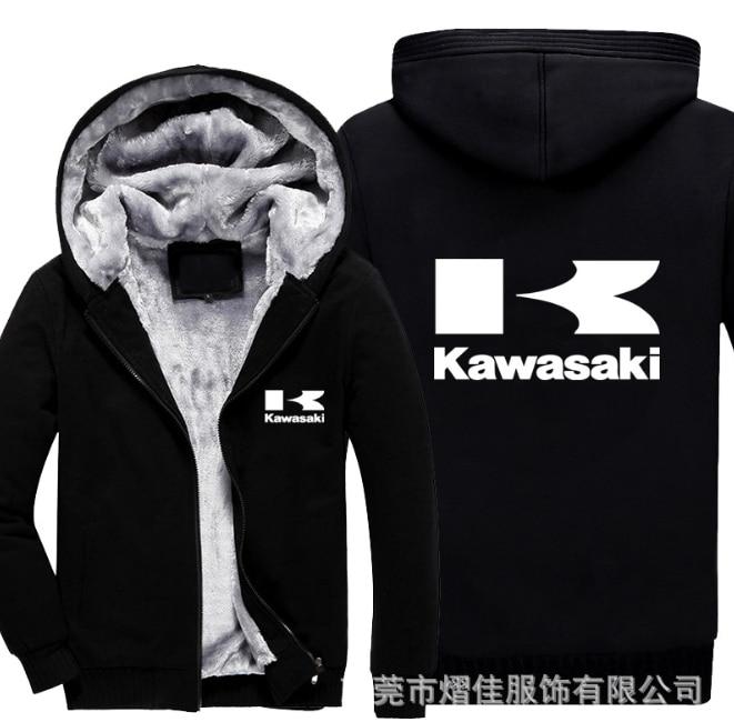 2020NEW Print Barcelona Kawasaki Hoodie Zipper Thicken Jackets Coats Luminous Cardigan Men Hoodies Fashion Hip Hop Sweatshirts