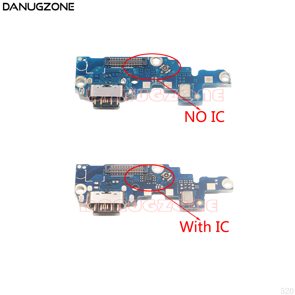 For Nokia X6 / 6.1 Plus 2018 TA-1083/1099/1103/1116 USB Charging Port Dock Socket Jack Connector Charge Board Flex Cable With Ic