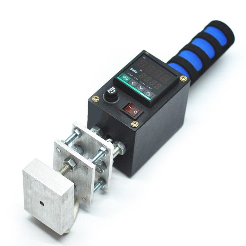 Heißer Stanzen Maschine Handheld Heißer Stempel Druck Maschine Mark Drucker Leder Präge LOGO Marke Drücken Maschine 110V