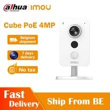 Dahua imou Cube POE 4MP caméra IP détection PIR Interface d'alarme externe détection sonore caméra bidirectionnelle