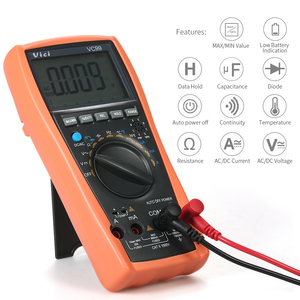 Image 4 - VC99 VC97A新VC97 1000vデジタルマルチメータdc acオートレンジdmm温度電流計静電容量抵抗ダイオード