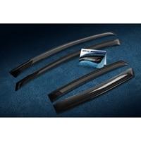 Defletores de janela 4 peças para suzuki sx4 i 2006 2014 hatchback reinwv536|Toldos e abrigos| |  -