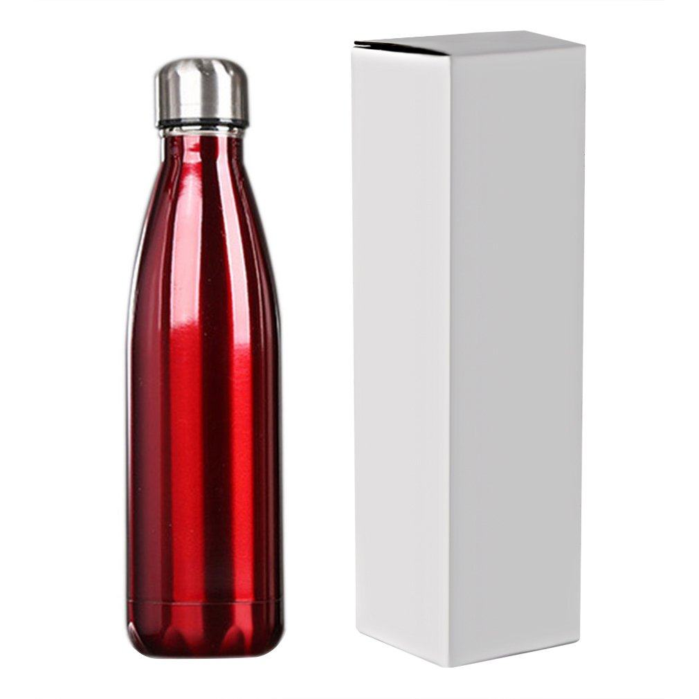 500ml Double-Wall Insulated Vacuum Flask Stainless Steel Water Bottle BPA Free Thermos for Sport Water Bottles Home Travel Use