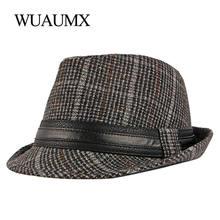 Шапка wuaumx унисекс осенне зимняя джазовая для мужчин и женщин