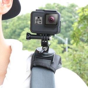 Image 2 - Вращающийся на 360 градусов зажим для рюкзака, крепление для GoPro Hero 8 7 6 5 4 для Go pro xiaomi, аксессуары для спортивных экшн камер
