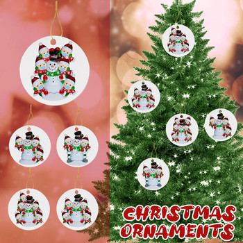 2020 Christmas Ornaments Hanging Decoration Gift Product Personalized Family image