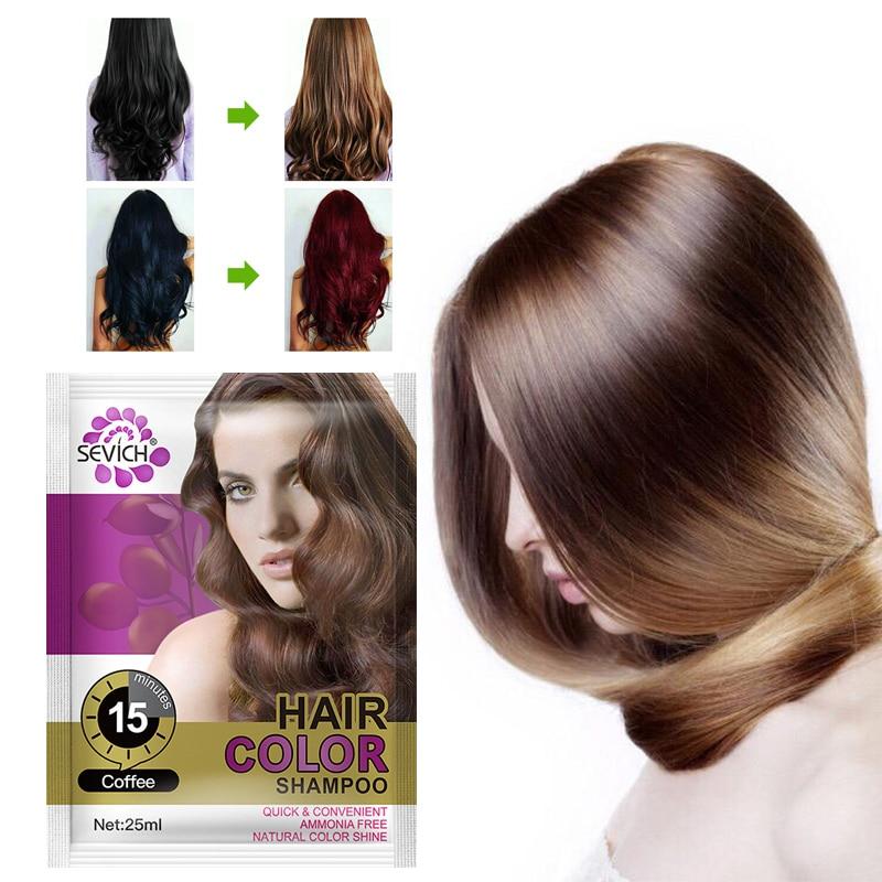 30 Minute 4 Color Hair Dye Cream Natural Organic Hair Dye Fashion Festival Celebration Molding Coloring Hair Color Shampoo TSLM1