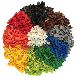 Image 2 - 1000pcs Classic Building Blocks MOC Bricks Set DIY Car Train City Creator Educational Toys for Children 9 Different Model Sizes