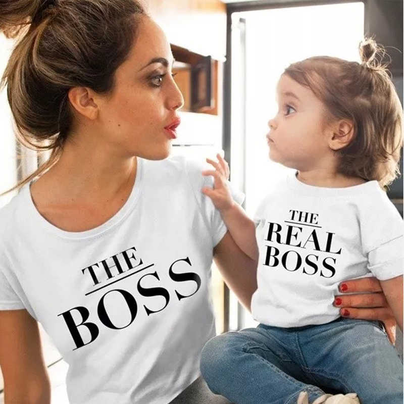ครอบครัวชุดแม่และลูกสาวเสื้อผ้า Mommy และ ME เสื้อผ้าพิมพ์เสื้อยืดแม่และลูกสาวเสื้อผ้า