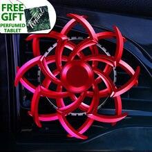 Роскошный автомобильный ароматизатор паук двунаправленный вращающийся