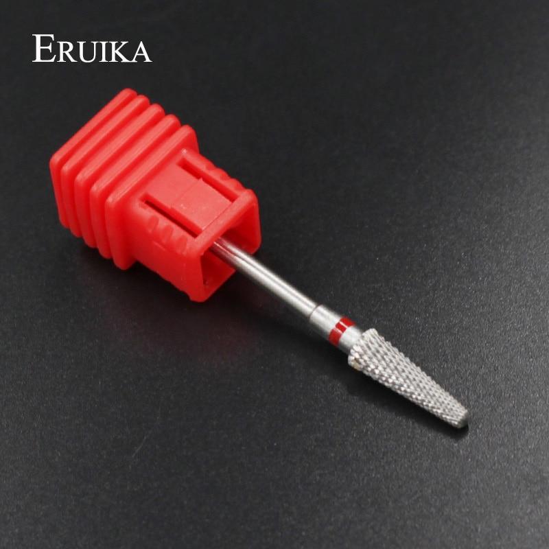 ERUIKA 1pc M Size Carbide Nail Art Drills Bit 3/32