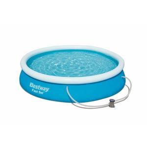 Надувной бассейн Bestway 57268 с надувным бортом 244х66см