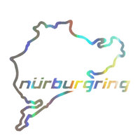 Nurburgring Map Funny Car Truck Vehicle Reflective Decals Sticker Decoration 2019 New Wholesale Funny Sign Car Accessories 4