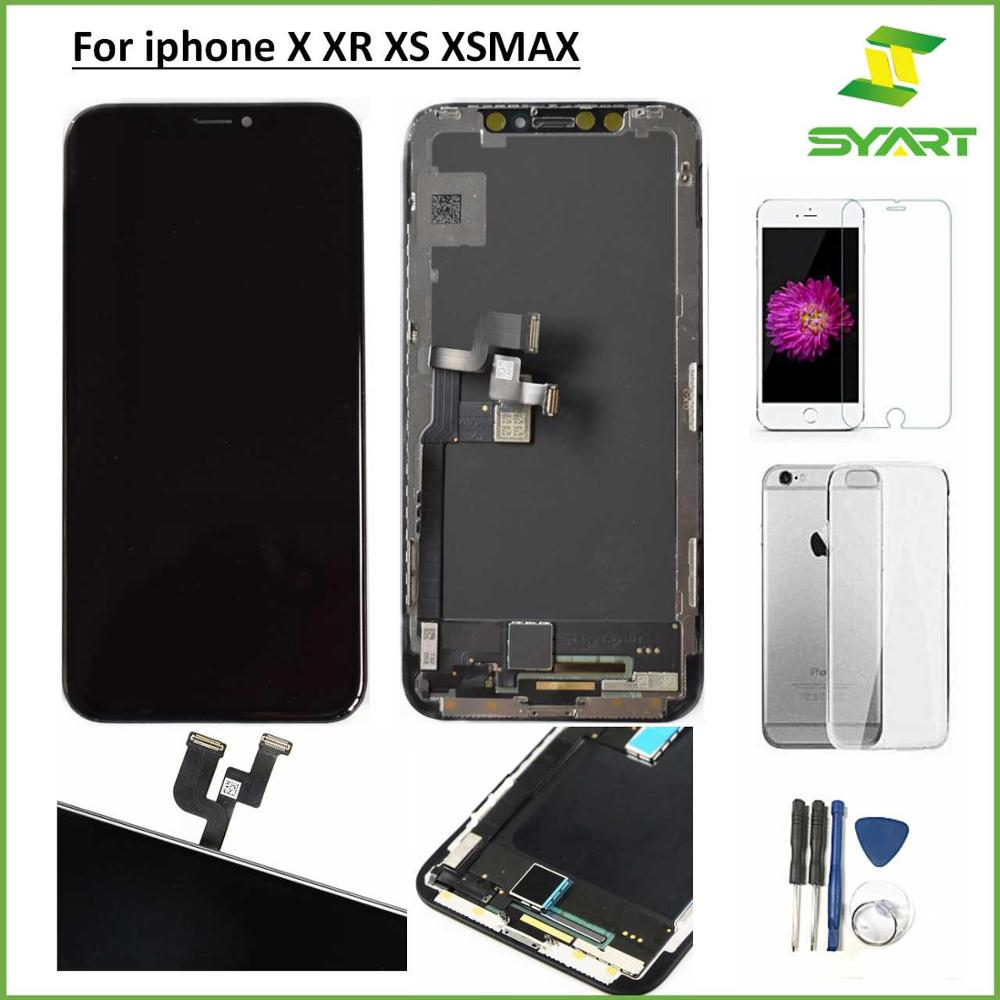 JK Incell OLED LCD Pantalla For iPhoneX 10 XS Screen LCD Display Touch Screen Digitizer Assembly For iPhone X OLED XS MAX TFT XR