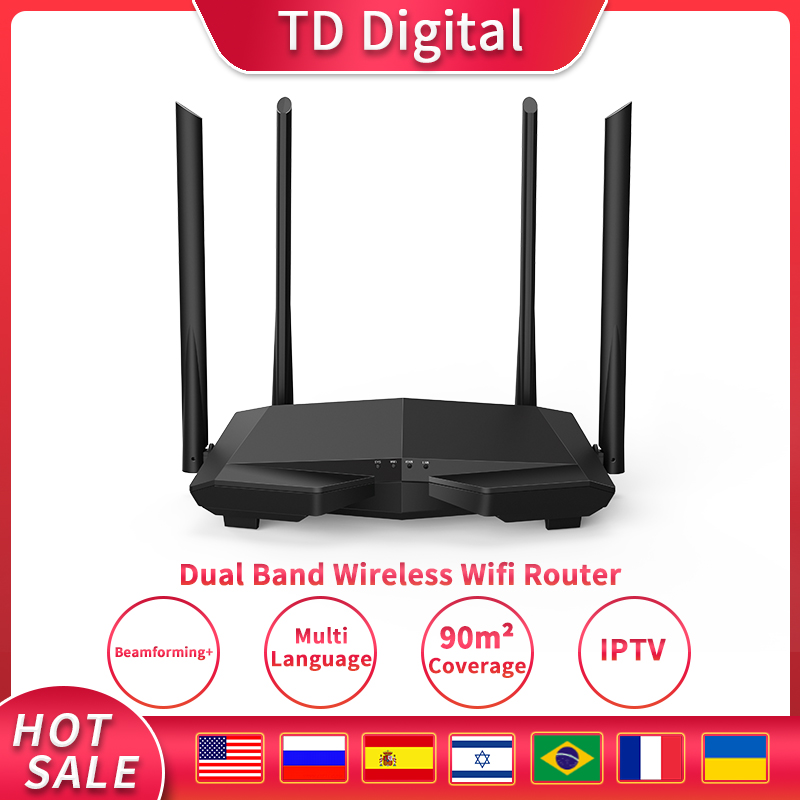 GLC6 Wireless WiFi Router Dual Band AC1200 2.4G/5.0GHz  Wi-Fi Repeater, APP Remote Manage