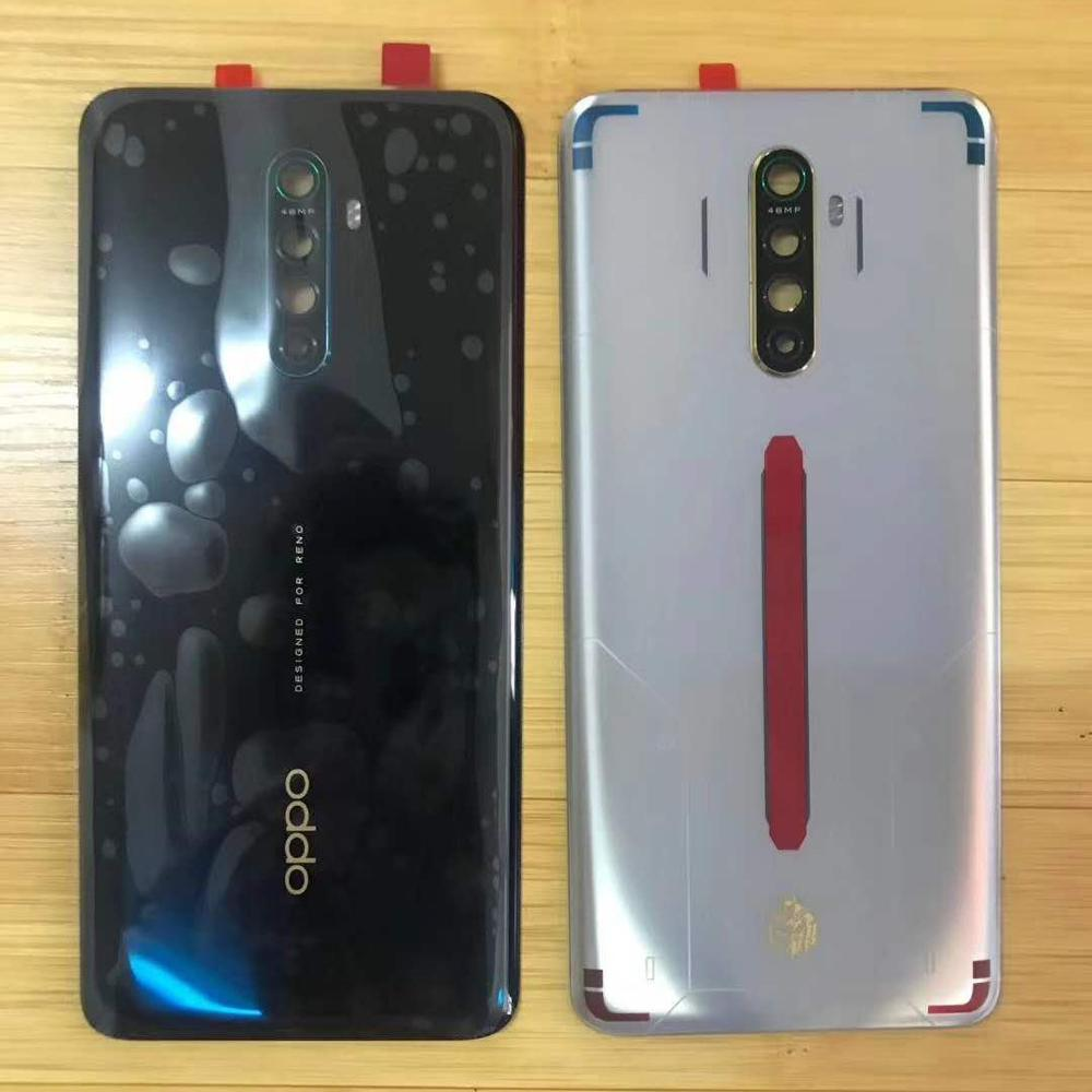 For Oppo Reno Ace Original Back Cover Glass Back Shell Battery Cover Back