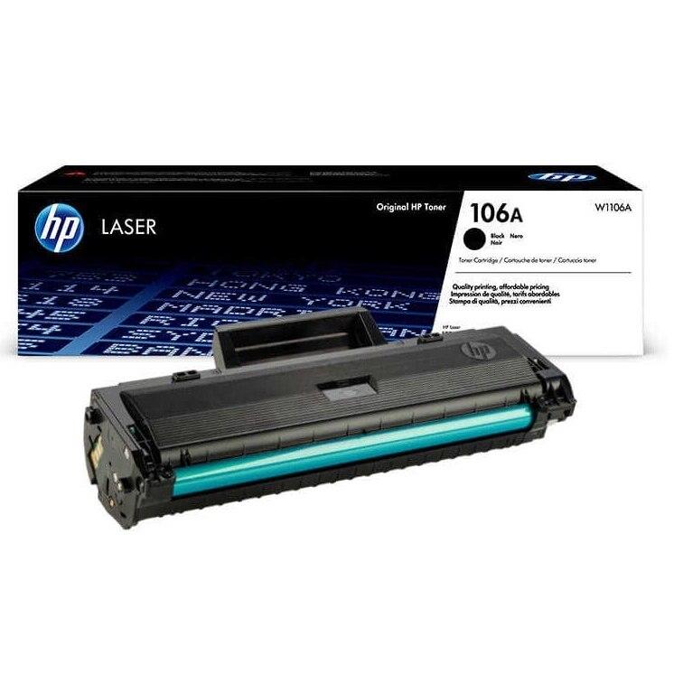 HP 106A W1106A HP M107,MFP 135 MFP 137 Chipli Orginal Toner-Kutusuz